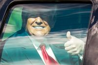 Donald Trump lämnar Vita Huset den 20 januari.