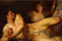 Gammaltestamentlig BDSM? Simson och Delila, målning av John Francis Rigaud, 1784.