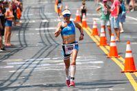 Kaisa Sali under Ironman 2017. Arkivbild.