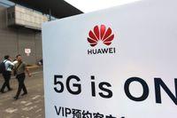 Huawei på allas läppar i 5G-racet. Arkivbild.