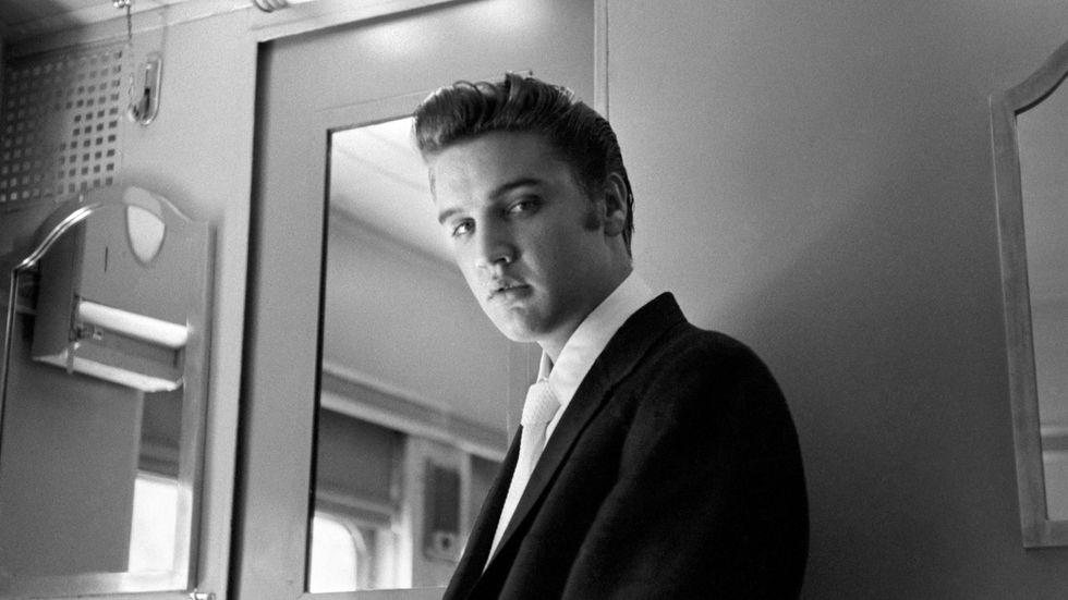 Elvis Presleys kometkarriär ska bli film. Arkivbild.