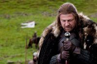 Sean Bean som Ned Stark.