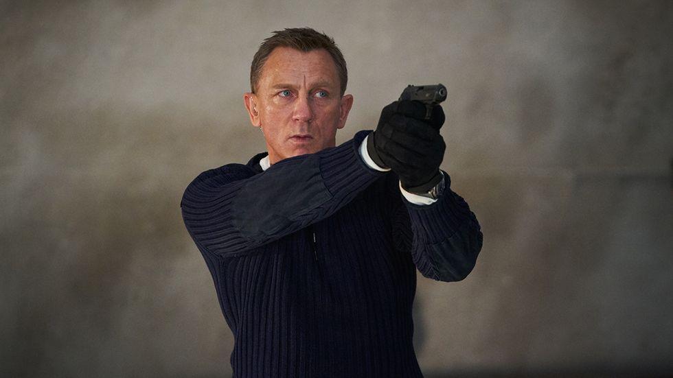"I ""No time to die"" gör Daniel Craig sin sista roll som James Bond."