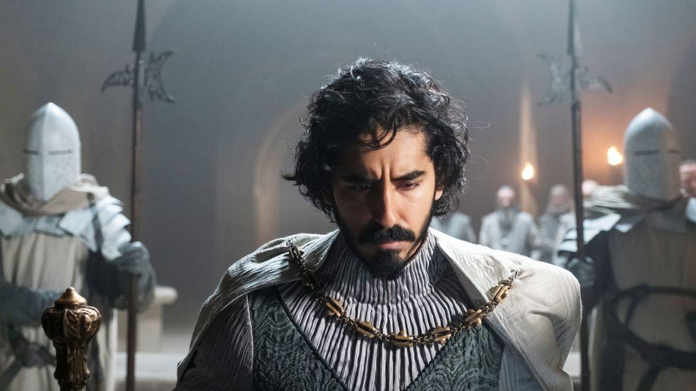 "Dev Patel som sir Gawain i ""The green knight""."