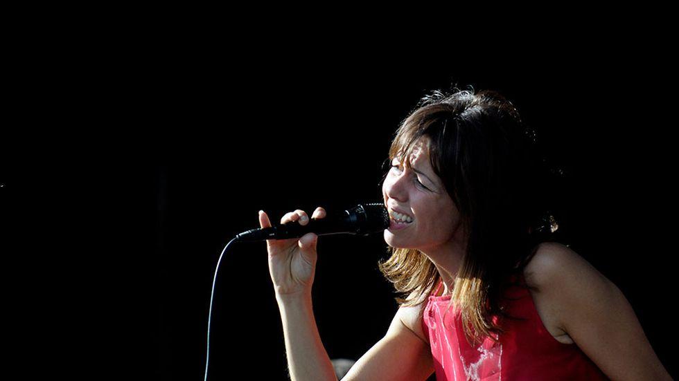 Svenska artisten Rigmor Gustafsson (Obs! Bilden är inte från konserter på Fasching).