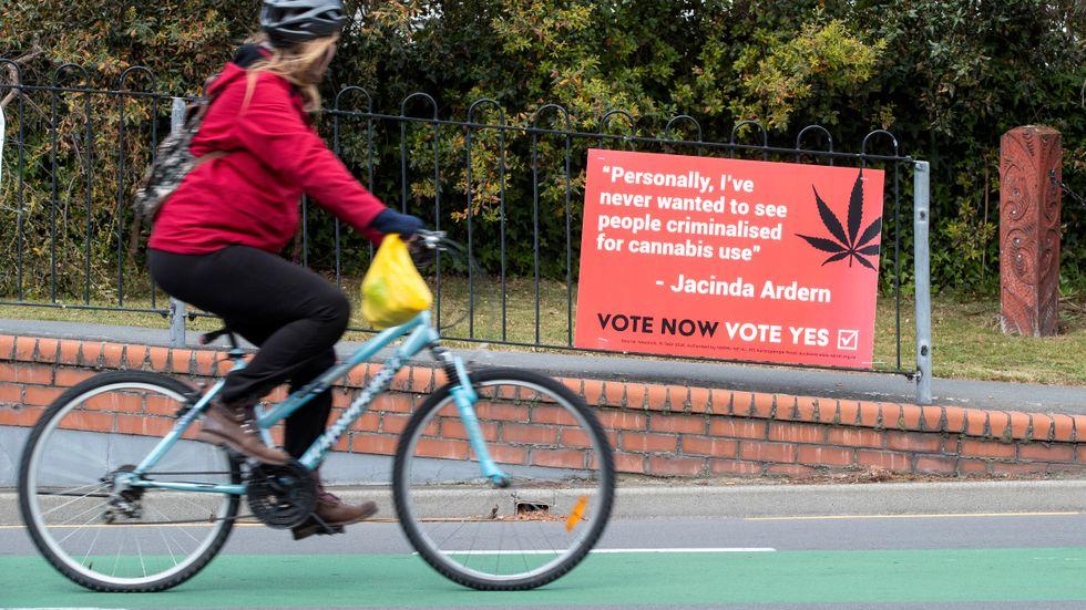 Nya Zeeland röstar om avkriminalisering.