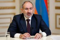 Armeniens premiärminister Nikol Pasjinian avgår. Arkivbild.