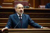 Armeniens premiärminister Nikol Pasjinian. Arkivbild.
