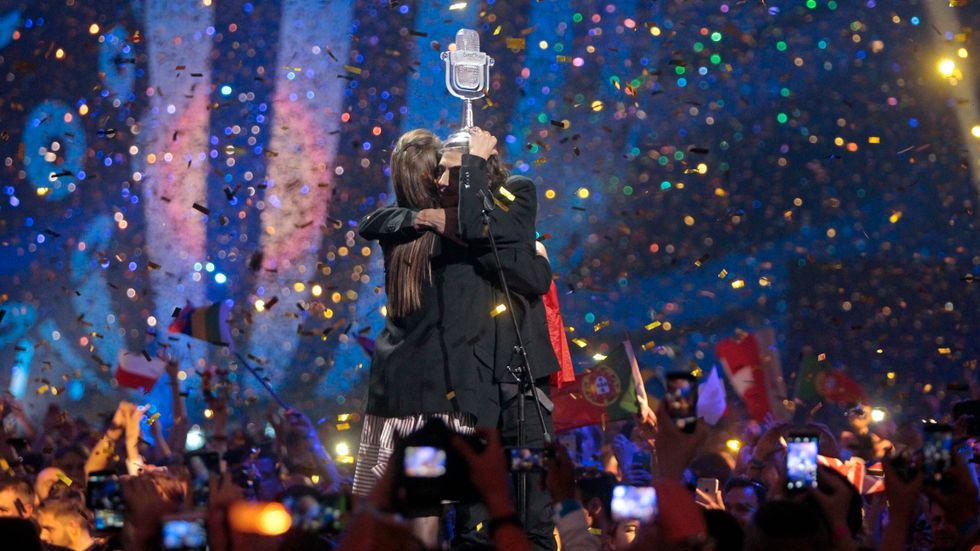 Portugals Salvador Sobral vann årets Eurovision Song Contest. Arkivbild.