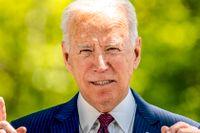 President Joe Biden håller ett tv-sänt tal på onsdagen.
