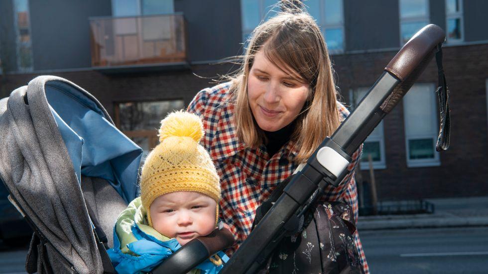 """""""Väldigt många nyblivna föräldrar har det jobbigt nu"""", säger Nina Danielson-Kienast."""