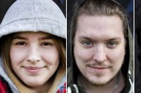 Wilma-Saga Norrblom Persson, Christopher Meurle och Charlin Svanér dela Cruz.
