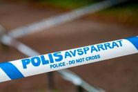 Polisen utreder ett misstänkt mordförsök i Nacka utanför Stockholm. Arkivbild.