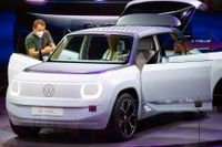 Volkswagen och flera andra tillverkare passade på att visa upp nya fordon under mobilitetsmässan i München.