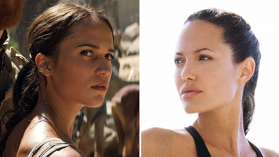 Alicia Vikander axlar Angelina Jolies roll som Lara Croft.