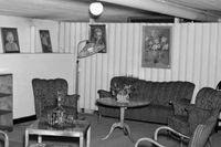 Heminrett skyddsrum på Torsgatan i Stockholm, 1943.
