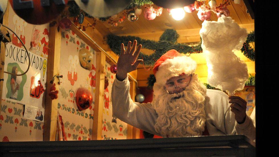 Den svenska julen är en mix av många olika traditioner, från flera olika länder och tidsepoker. Arkivbild.
