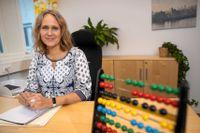 Bodil Hallin jobbar som budget- och skuldrådgivare på Höganäs kommun.