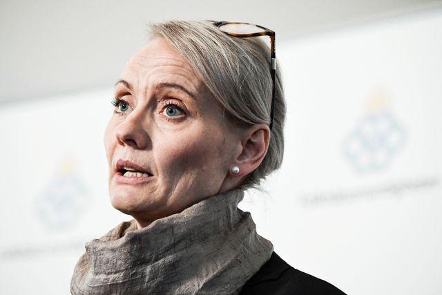 Karin Tegmark-Wisell, avdelningschef för mikrobiologi på Folkhälsomyndigheten.