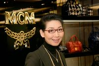 55-åriga Kim Sung Joo är vd för lyxvaru- och modeföretagen Sungjoo Group och MCM Holdings AG.