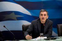 Greklands finansminister Euklidis Tsakalotos.