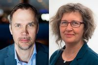 Anders L. Pettersson och Anna Lindenfors.