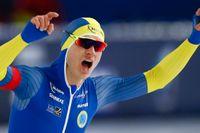 Sedan Nils van der Poel vann dubbla VM-guld på skridsko och slog världsrekord råder skridskofeber i Sverige. Nu hoppas förbundet kunna arrangera all-round VM. Arkivbild.