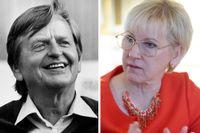 Margot Wallström får i den pågående kritikstormen stöd från den israeliske fredsaktivisten Gideon Levy som jämför Sveriges utrikesminister med Olof Palme.