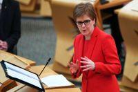 Skottlands förstaminister Nicola Sturgeon. Arkivbild.