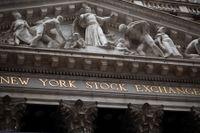 Uppåt på Wall Street. Arkivbild.