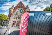 Förtidsröstning inför kyrkovalet vid S:t Johannes kyrka i Malmö.
