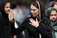 Premiärminister Jacinda Ardern deltog i den muslimska fredagsbönen i fredags.