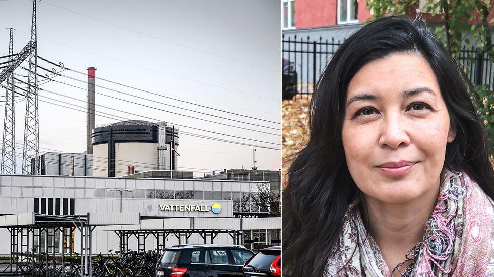 Katarina Yuen, chef för kraftsystemanalys på konsultföretaget Sweco