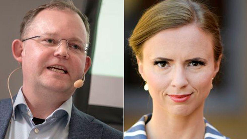 Sara Skyttedal, toppkandidat för KD i EU-valet tänker inte redovisa vad hon gör för kontorspengarna för att inte ge politiska motståndare någon insyn. Ett argument som statsvetaren Henrik Ekengren Oscarsson inte ger mycket för.