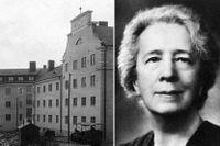 Alma Hedins dröm gick i uppfyllelse när huset på Rödabergsgatan byggdes.