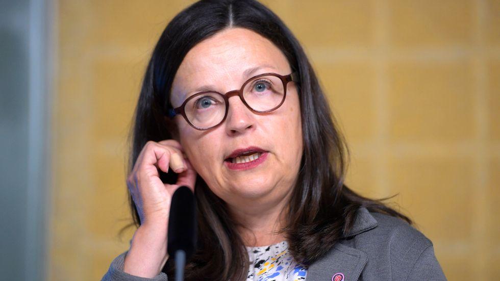Gymnasie- och kunskapslyftsminister Anna Ekström. Ser hon alla signaler?