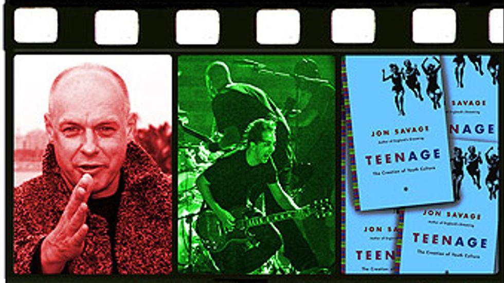 Brian Eno, System of a Down och on Savagesnya bok Teenage - The Creation of youth culture. Foto: Eric Gaillard, Jose Manuel Ribiero/Reuters