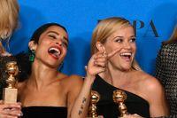"""Miniserien """"Big little lies""""blev den mest prisade på galan med totalt fyra vinster."""
