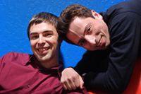 Larry Page och Sergey Brin grundade Google.