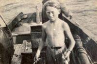 Anna Charlotta Gunnarsons pappa Ernst Gunnar Schiller var åtta år när Hitlers styrkor invaderade grannländerna i väst.