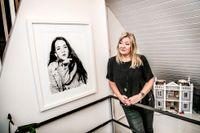"""Ebbas mamma Jeanette Åkerlund kom på idén till novelltävlingen """"Ebbas historia"""" för att hedra sin dotter och inspirera barn att skriva."""