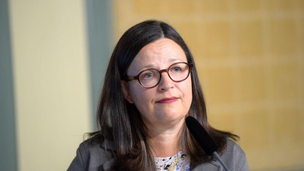 Gymnasieminister Anna Ekström (S). Arkivbild.