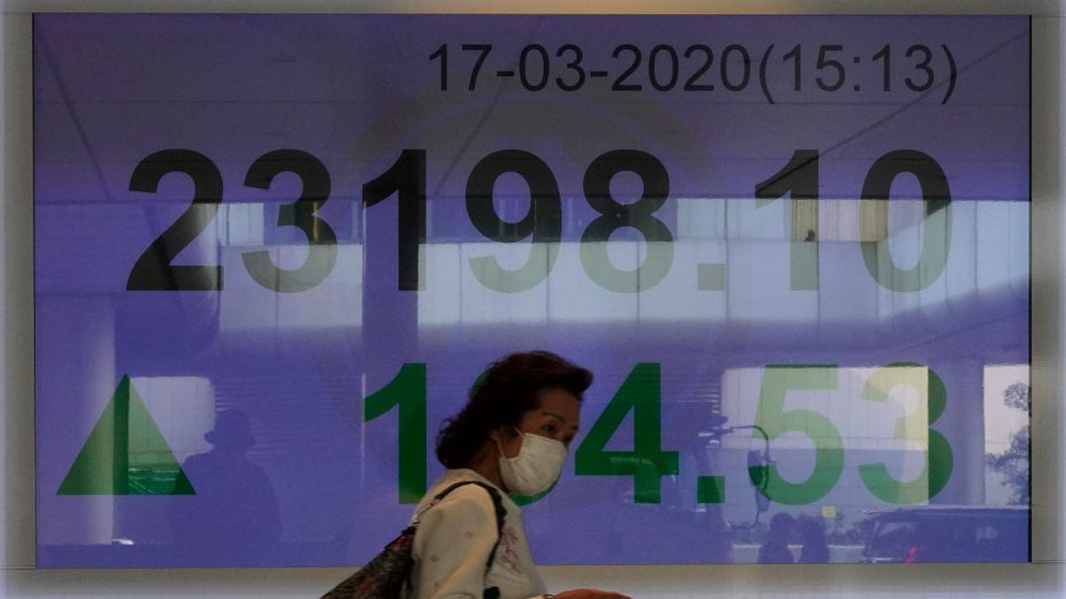 De ledande Asienbörserna rörde sig åt olika håll under onsdagens handel. Arkivbild.