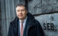 Wallenbergsfärens storbank SEB, med vd Johan Torgeby, redovisar kvartalsrapport. Arkivbild.