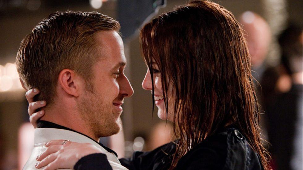 Jacob (Ryan Gosling) möter Hannah (Emma Stone).