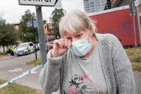 När Dragana, 71, berättar om mordet kan hon inte hålla tillbaka tårarna.