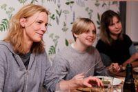 """Målet: äta ihop tre kvällar. """"Det är väl okej"""", säger Henrika Thomasson."""