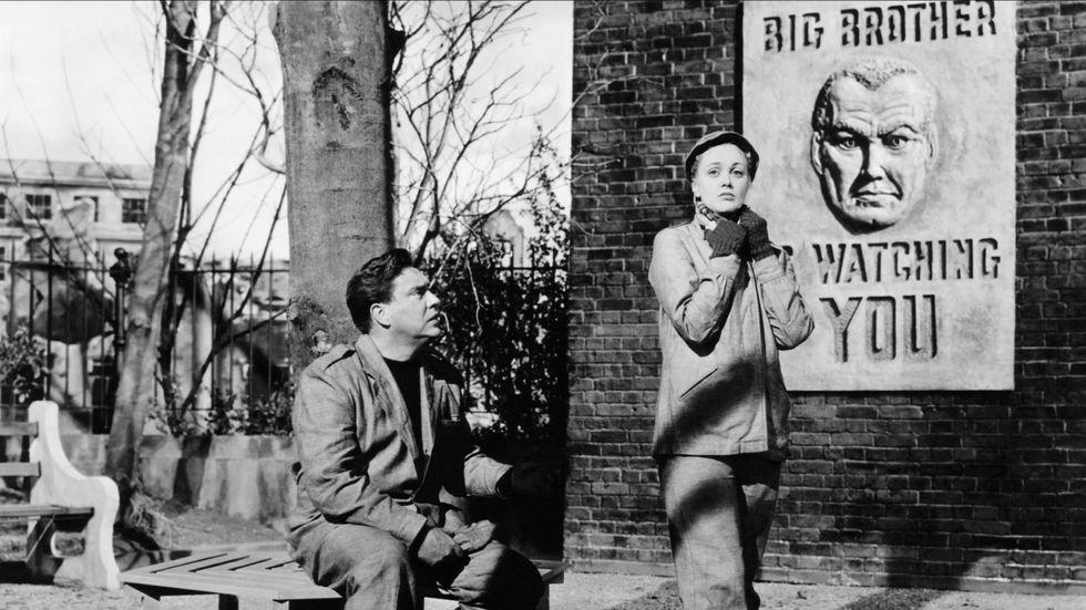 Ur filmen 1984 från 1956.