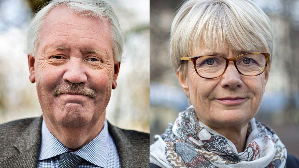 HG Wessberg och Catharina Håkansson Boman