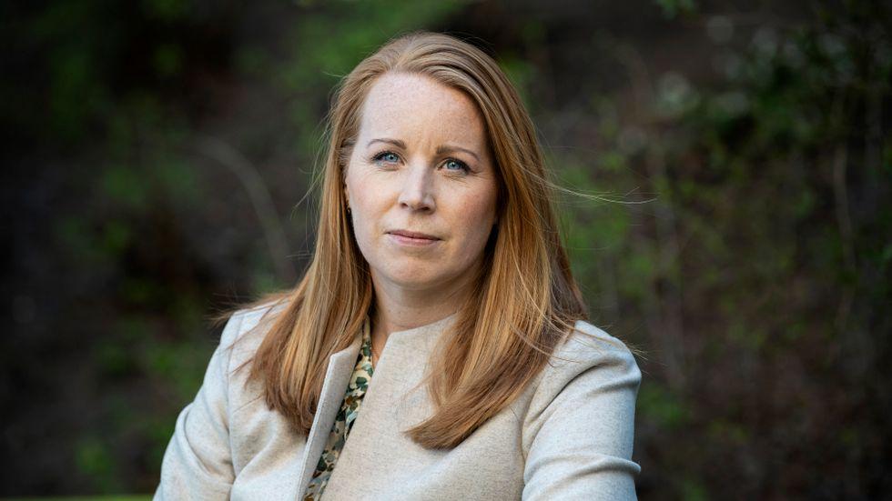 Annie Lööf är nöjd med effekten av Facebook-inlägget.